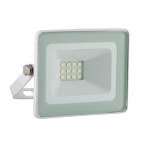 EUROLUX 10W LED Mini Floodlight, 4000K, White