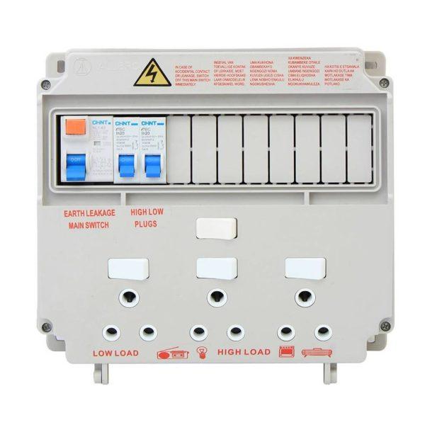 EUROLUX 13 Module Ready Board, 3 x 16A Sockets
