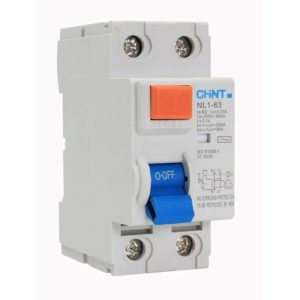 EUROLUX 2 Pole Earth Leakage Circuit Breaker, Single Phase, 63AMP