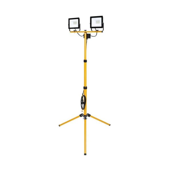 EUROLUX 2 x 20W LED Floodlight With Tripod & Lead