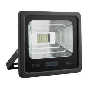 EUROLUX 20W LED Floodlight, Grey