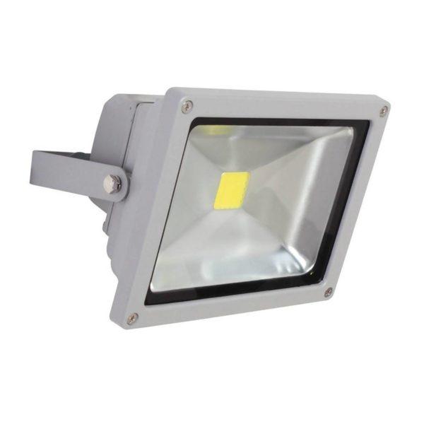 EUROLUX 20W LED Floodlight, Silver