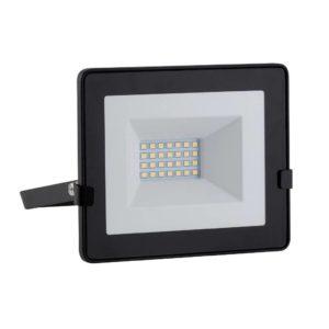 EUROLUX 20W LED Floodlight With Day/Night Sensor, Cool White