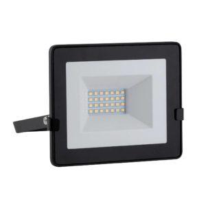 EUROLUX 20W LED Floodlight With Day/Night Sensor, Warm White