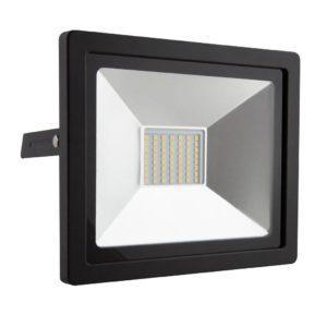 EUROLUX 30W LED Floodlight, 4000K, Black
