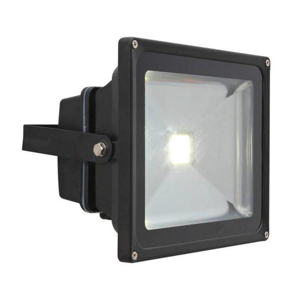 EUROLUX 30W LED Floodlight, Black