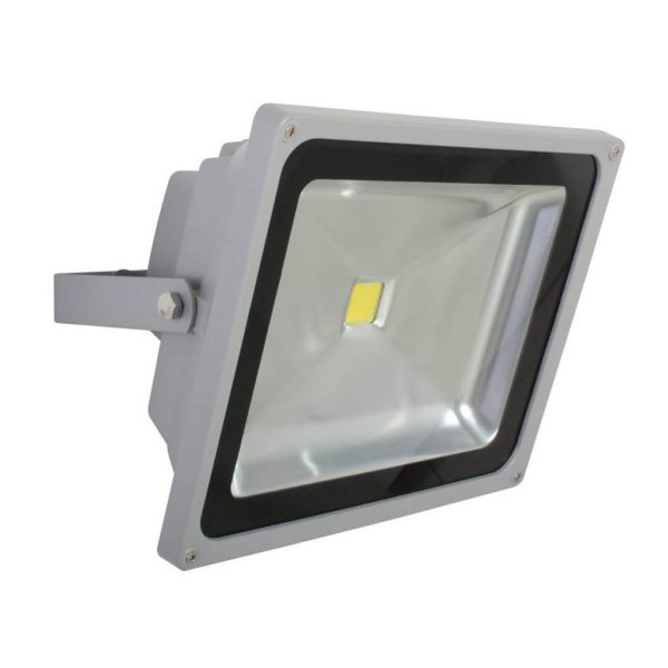 EUROLUX 50W LED Floodlight, Silver