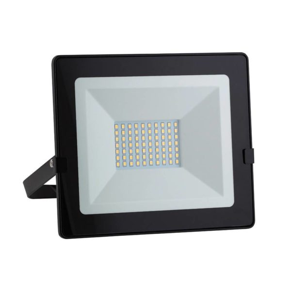 EUROLUX 50W LED Floodlight With Day/Night Sensor, Cool White