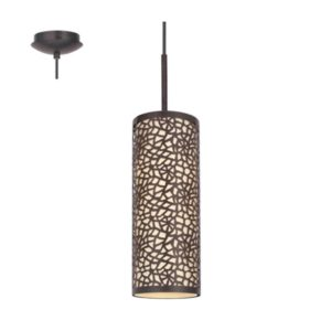 EUROLUX Almera P652 Traditional Pendant, Antique Brown