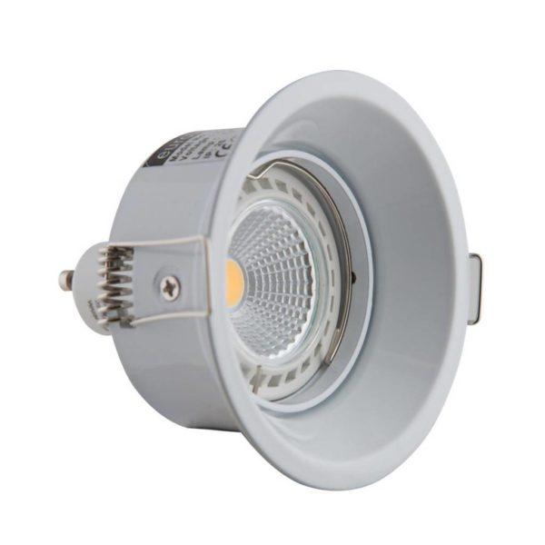 EUROLUX Anti-Glare Downlight, GU10, White