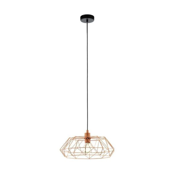 EUROLUX Carlton P778C Pendant, 1 light, Copper