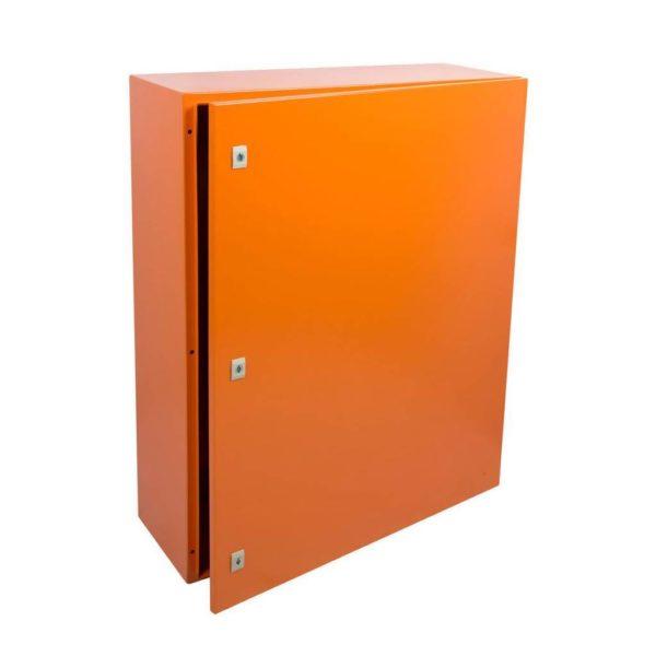 EUROLUX Electrical Enclosure, 1000mm x 800mm, Steel, Orange