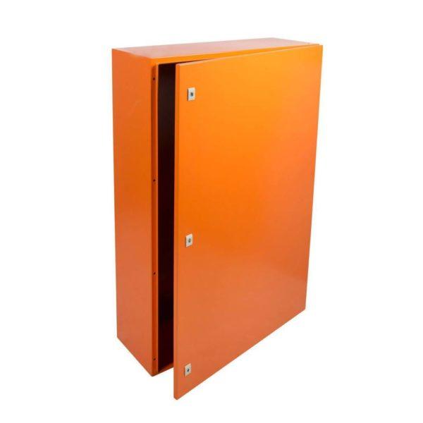 EUROLUX Electrical Enclosure, 1200mm x 800mm, Steel, Orange