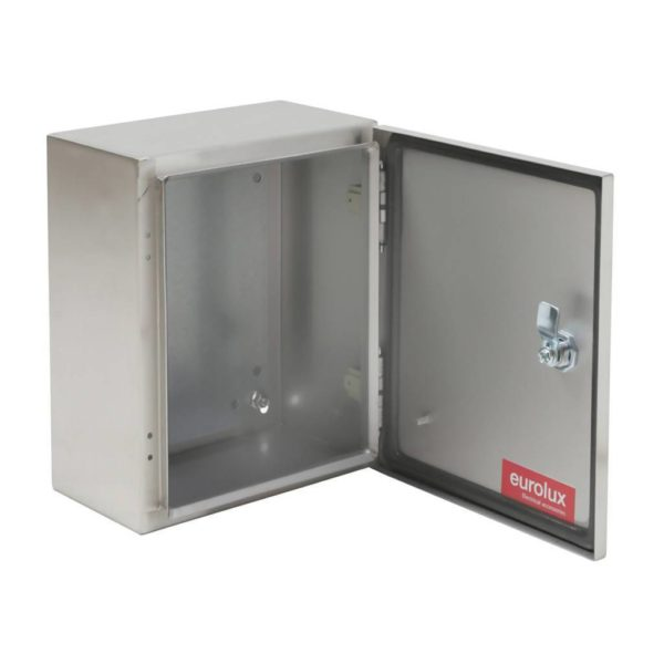 EUROLUX Electrical Enclosure, 250mm x 300mm, Stainless Steel