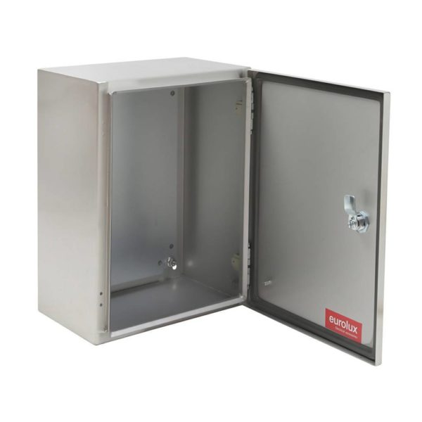 EUROLUX Electrical Enclosure, 400mm x 300mm, Stainless Steel