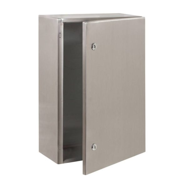 EUROLUX Electrical Enclosure, 400mm x 600mm, Stainless Steel