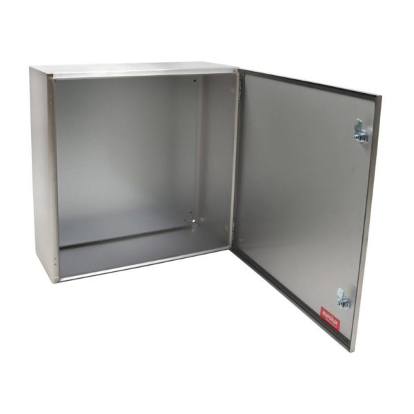EUROLUX Electrical Enclosure, 600mm x 600mm, Stainless Steel