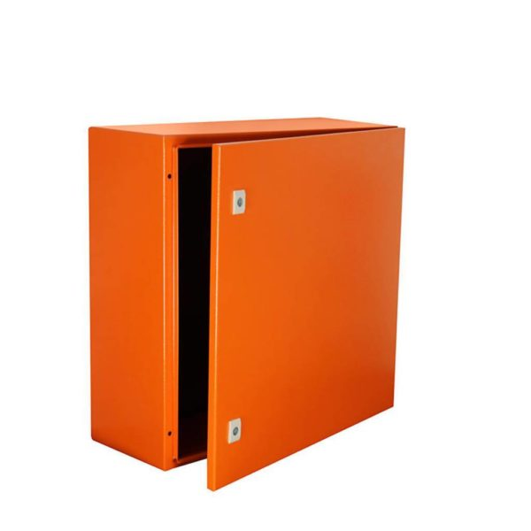 EUROLUX Electrical Enclosure, 600mm x 600mm, Steel, Orange