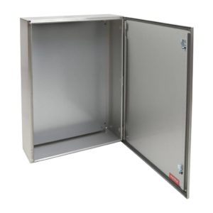 EUROLUX Electrical Enclosure, 600mm x 800mm, Stainless Steel