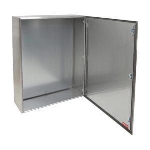 EUROLUX Electrical Enclosure, 800mm x 1000mm, Stainless Steel