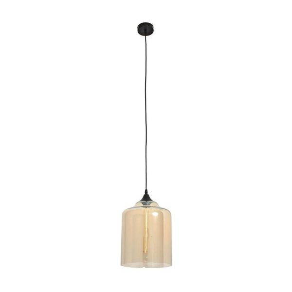 EUROLUX Elixir P424CHA Pendant, 1 Light, Electroplating In Champagne