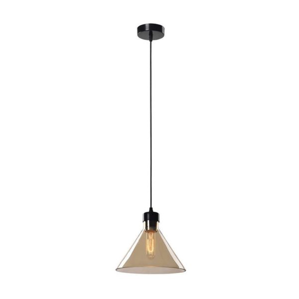 EUROLUX Elixir P432CHA Pendant, 1 Light, Electroplating In Champagne