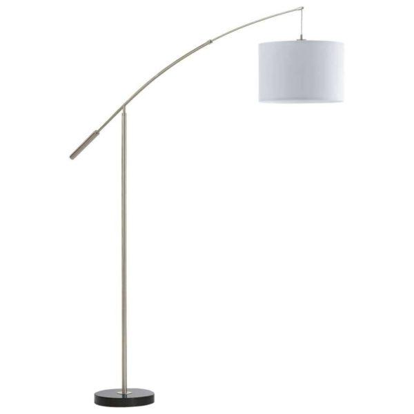 EUROLUX FL176 Nadina Floor Light, E27, 60W, Satin Chrome