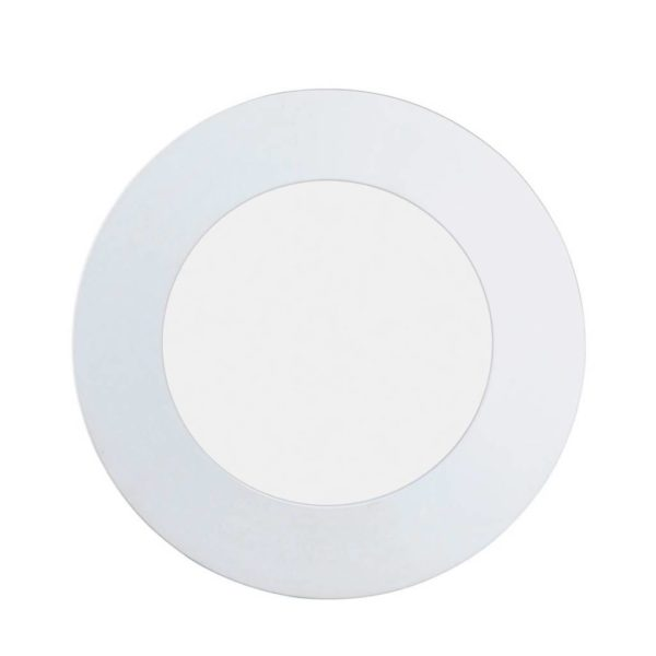 EUROLUX Fueva 1 Round Downlight,5.5W, 4000k, White