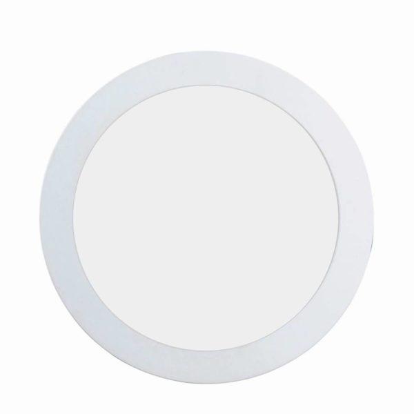EUROLUX Fueva 1 Round Recessed Luminaire Downlight, 13W, 3000k, White