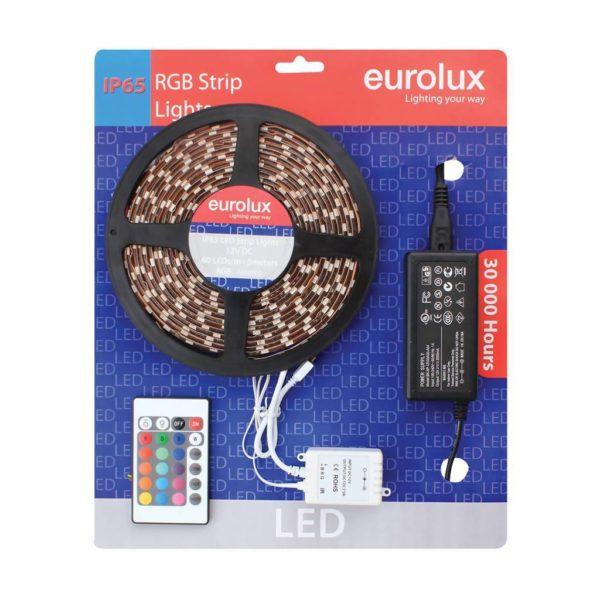 EUROLUX G650RGB, 5m 5050 LED Strip, Red Green Blue, 60 LED's Per Meter