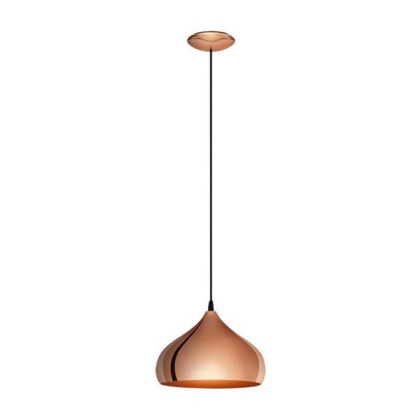 EUROLUX Hapton P702 Pendant, 1 Light, Copper