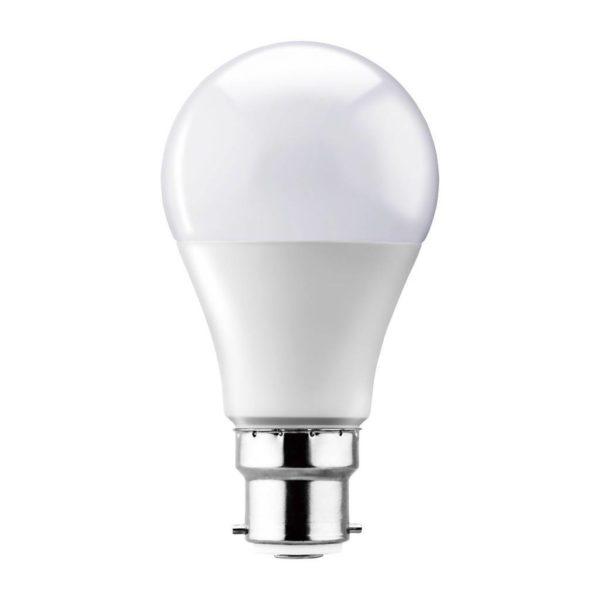 EUROLUX LED A60 Opal Globe, B22, 15W, Cool White
