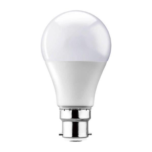 EUROLUX LED A60 Opal Globe, B22, 15W, Warm White