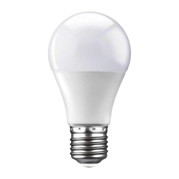 EUROLUX LED A60 Opal Globe, E27, 9W, Cool White