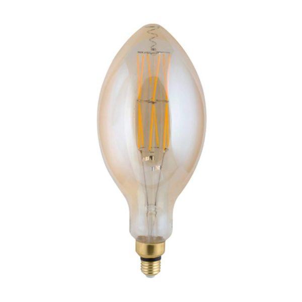 EUROLUX LED High Voltage Filament Candle, E27, 8W, 2100K