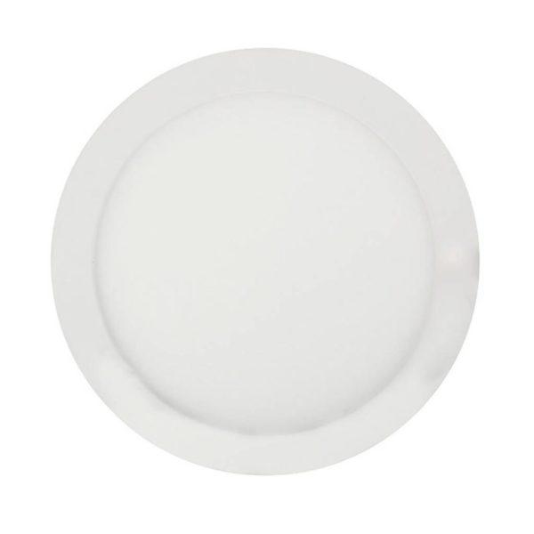 EUROLUX LED Panel Downlight, Round, 18W, 4000K, White