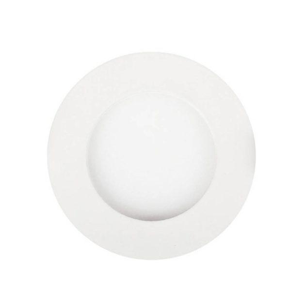 EUROLUX LED Panel Downlight, Round, 3W, 4000K, White