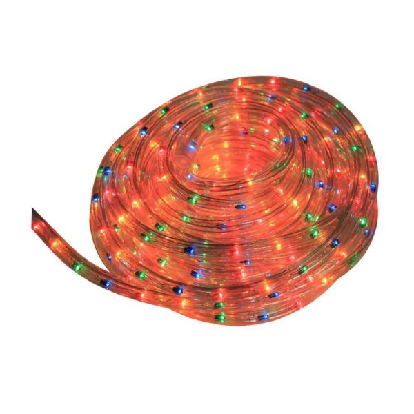 EUROLUX LED Rope Light With 8 Function Control, Multi-Coloured, 10m