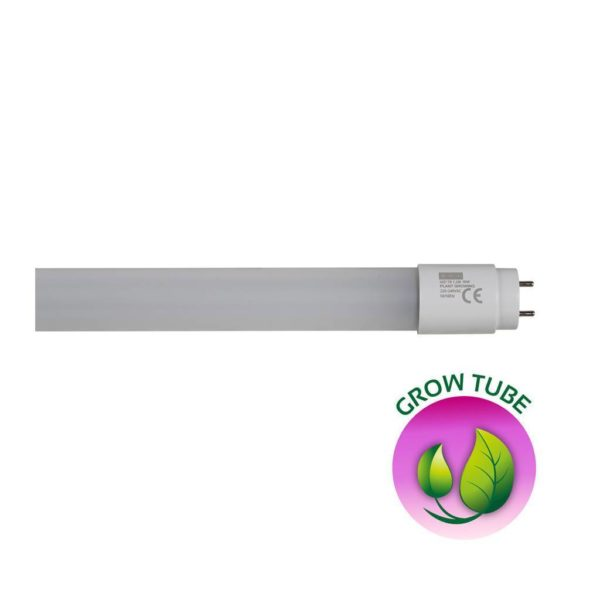 EUROLUX LED T8 Grow Tube, G13, 24W