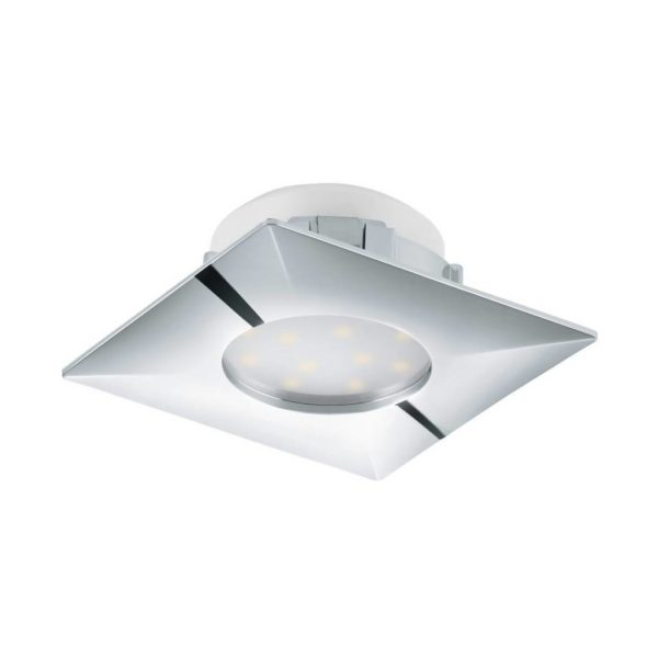 EUROLUX Pineda Recessed Downlight, 6W, Satin Chrome