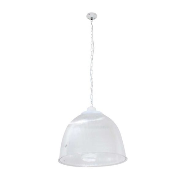 EUROLUX PR49 High Bay With 2m Suspension Chain, E40, 85W, Clear Shade
