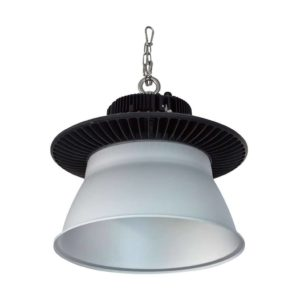 EUROLUX PR543 UFO LED High Bay, 200W, 5000K, Black & Silver