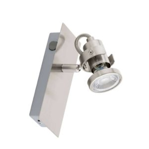 EUROLUX S149 Tukon 3 LED Spot Light, GU10, 3.3W, Satin Chrome
