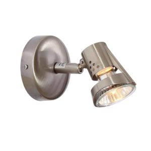 EUROLUX S178SC Deco Spot Light, GU10, 50W, Satin Chrome
