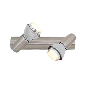 EUROLUX S183SC Zap Spot Light, 2 x E14, 40W, Satin Chrome
