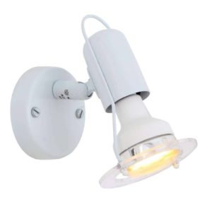 EUROLUX S20W Mini Disc Spot Light, E14, 40W, White