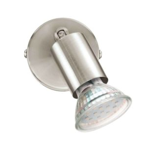 EUROLUX S421 Buzz LED Spot Light, 1 x GU10, 3.3W, Satin Chrome