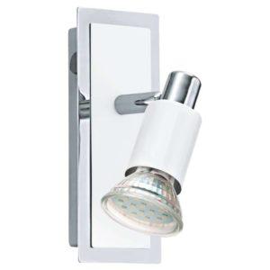 EUROLUX S424 Eridan LED Down Facing Spot Light, 1 x GU10, 5W, White & Chrome