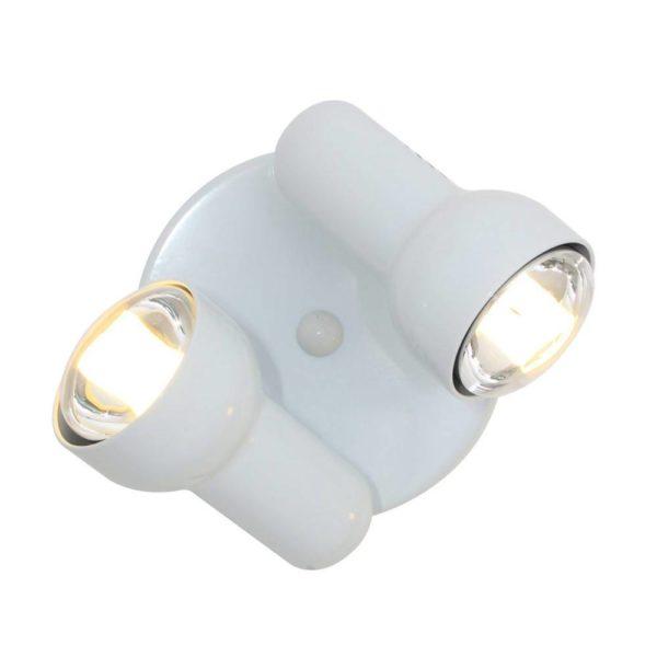 EUROLUX S43W Turbo Round Spot Light, 2 x E27, R80, 60W, White