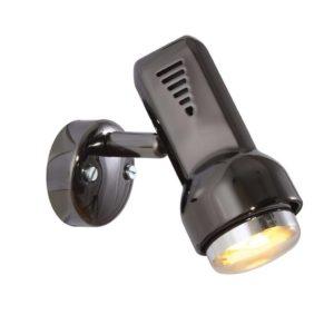 EUROLUX S74GM Delta Spot Light, 1 x E14, R50, 40W, Gun Metal